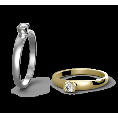 Snubní prsten Paris