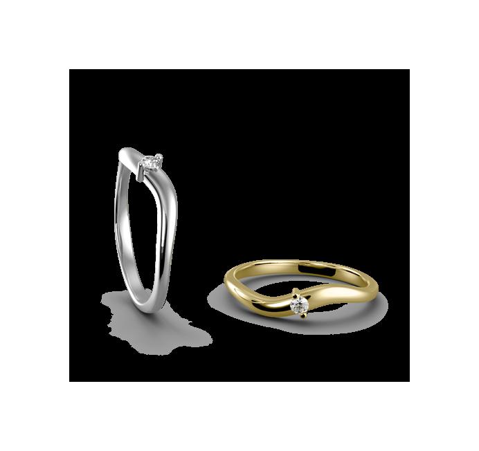 Snubní prsten Florencie