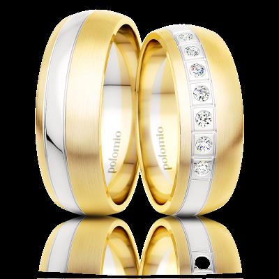 Snubní prsteny Nave duo 6,5-02