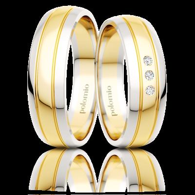 Snubní prsteny Pino duo 5,5-03