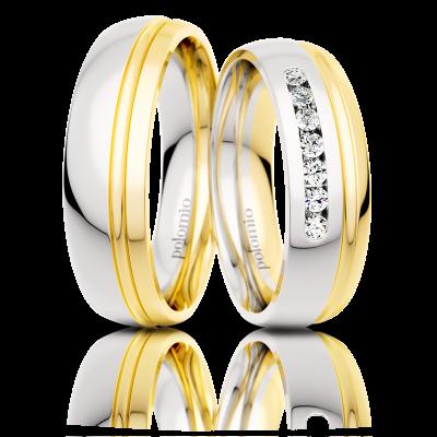 Snubní prsteny Sapo duo 5,5-02