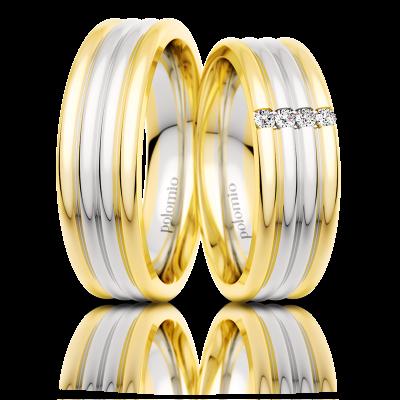 Snubní prsteny Gato duo 6-02