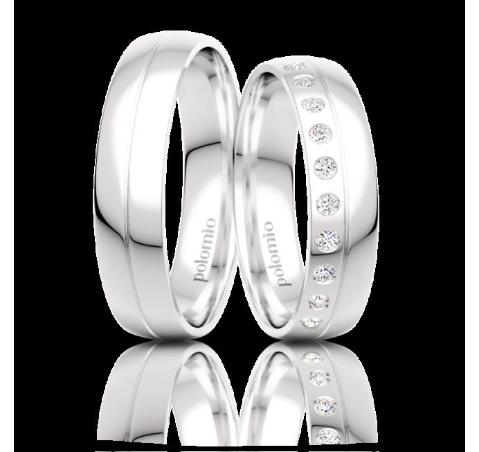 Snubní prsteny Mio 5-01