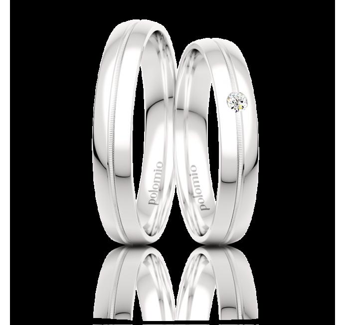 Snubní prsteny Lola 4-01