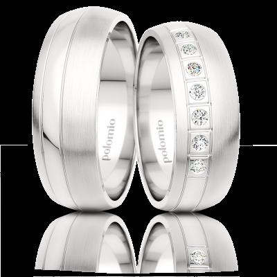 Snubní prsteny Nave 6,5-01