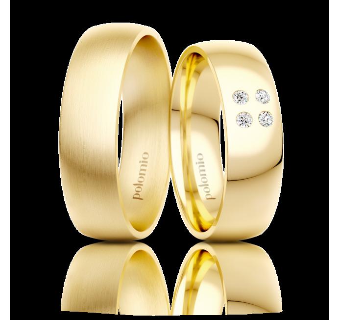 Snubní prsten Neli 6 mm