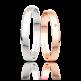 Snubní prsten Luka 3 mm