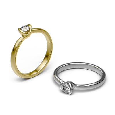 Zásnubní prsten Amsterdam