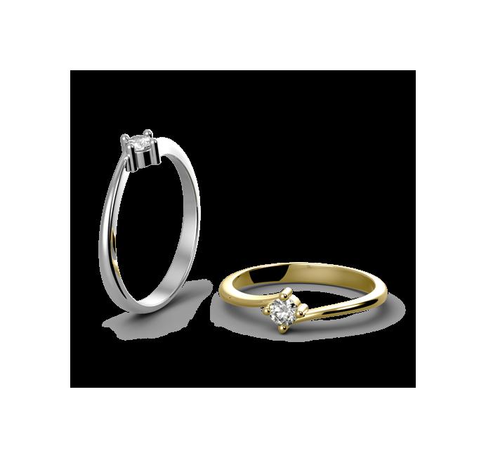 Zásnubní prsten Cairo
