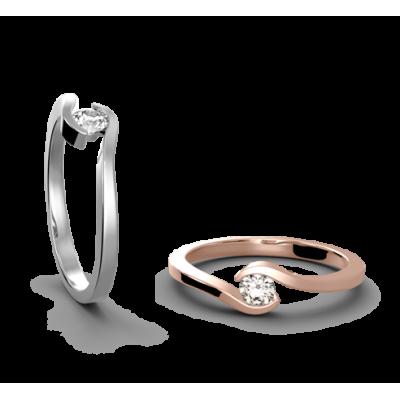 Zásnubní prsten Paris