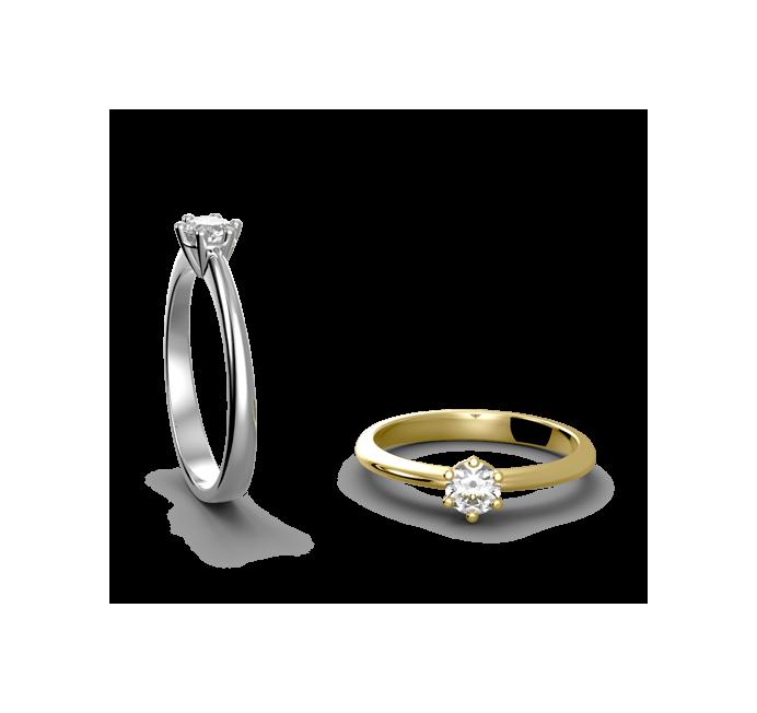 Zásnubní prsten Rome