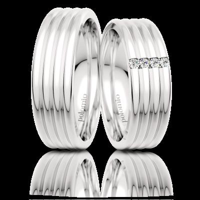 Snubní prsteny Gato 6-01