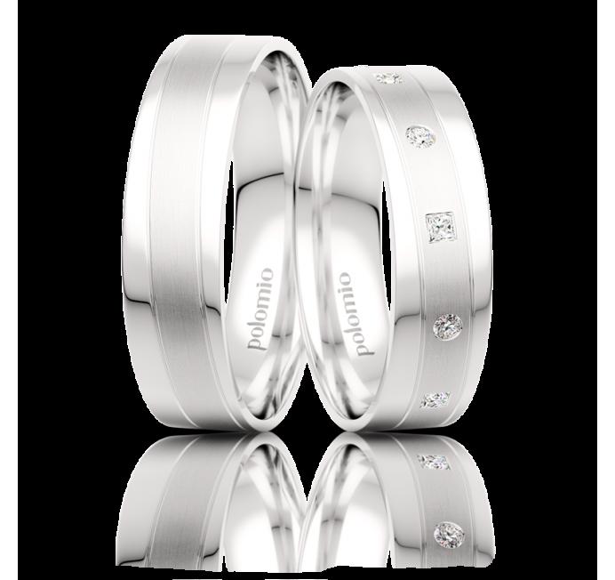 Snubní prsteny Tango