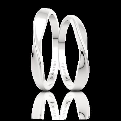 Snubní prsteny Twisted
