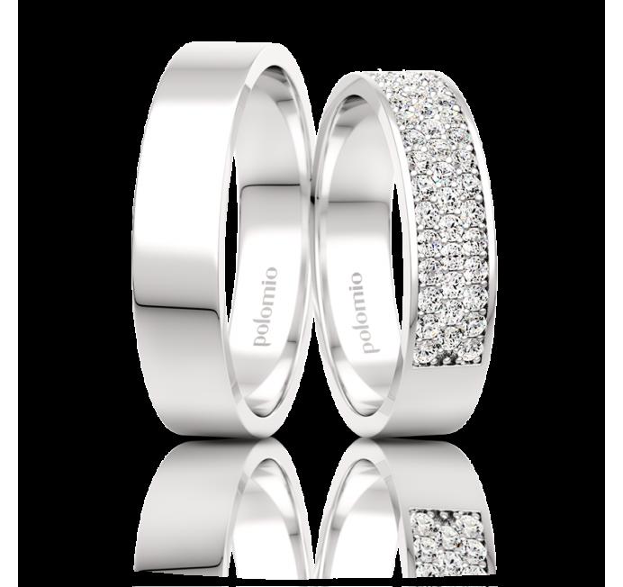 POLOMIO Snubní Snubní prsteny Veru X-01