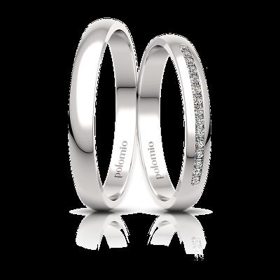 Snubní prsteny Dory 3