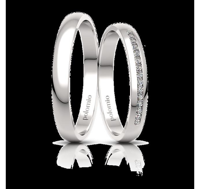 POLOMIO Snubní Snubní prsteny Dory 3