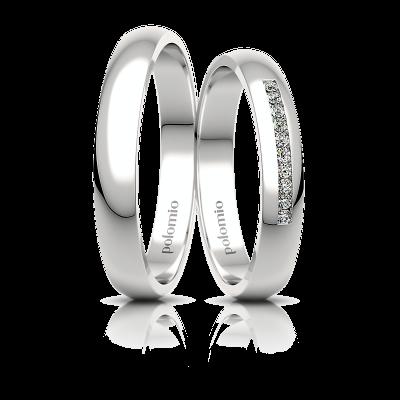 Snubní prsteny Roza 3,5