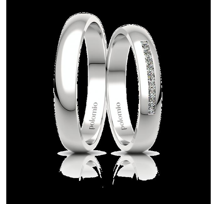 POLOMIO Snubní Snubní prsteny Roza 3,5