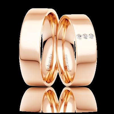 Snubní prsten Kora 6 mm
