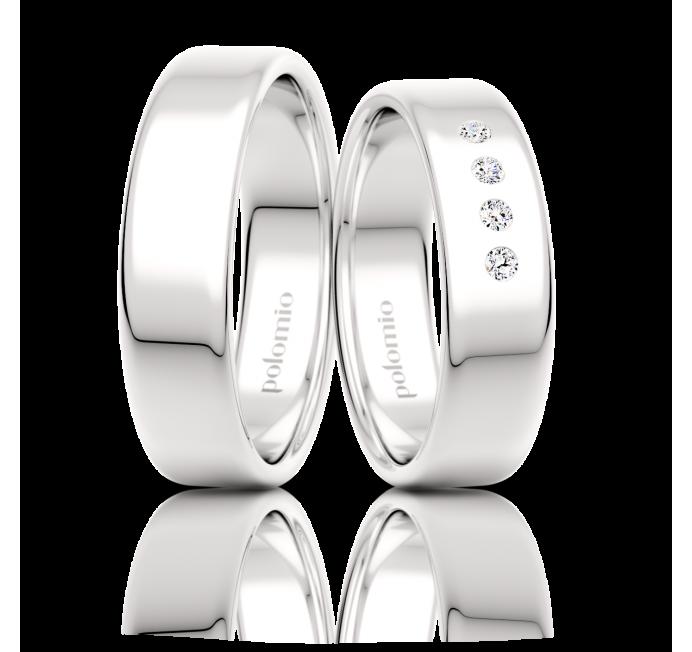 Snubní prsten Tobi 6 mm