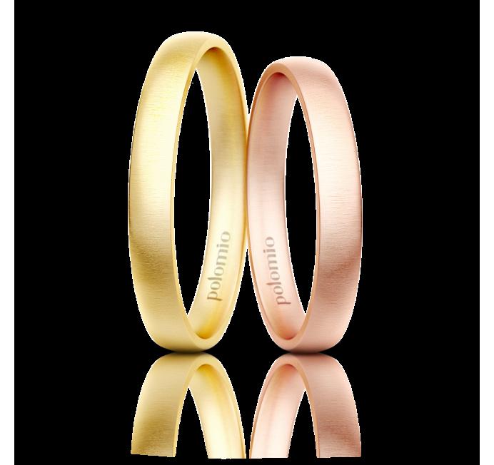 Snubní prsten Neli 3 mm