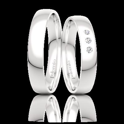 Snubní prsten Neli 4 mm
