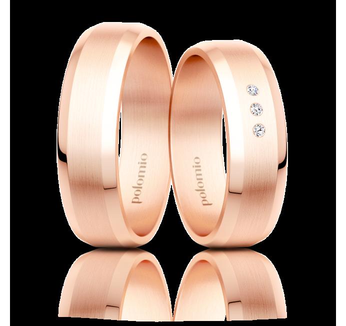 Snubní prsten Luka 6 mm